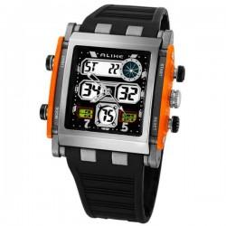 Relógio Alike AK1388 de quartzo Esporte e Militar Analógico-Digital