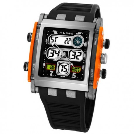 Watch Alike quartz AK1388 Sports and Analog-Digital Military