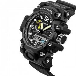 Reloj Sanda 732 Sport pantalla Led resistente al agua 30M