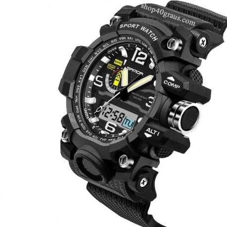 Sanda 732 Sport Led Display Waterproof 30M Watch