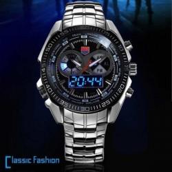 Reloj TVG 468 Macho 3 Marque Pantalla LED analógico-digitales