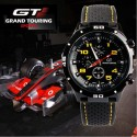 GT 54 GRAND TOURING Silicone Band Quartz Analog Sport Watch